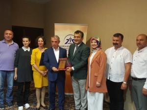 Dr. Hasan Hüseyin Can İstanbul'a uğurlandı..