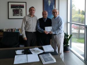 Kocaeli Gazetesi – Tanzer Ünal'ı Ziyaret ve Davet…