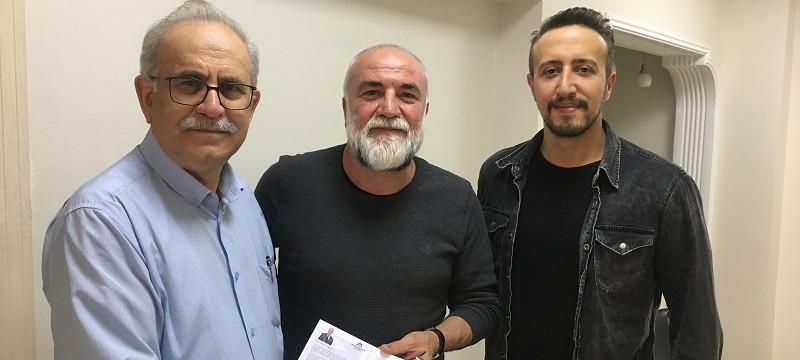 Global Medya – Güngör Arslan'ı Ziyaret ve Davet