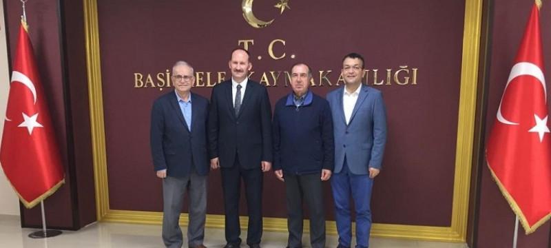 Başiskele Kaymakamı Atilla Kantay'ı Ziyaret