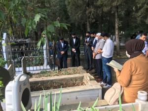 Prof. Dr. Ahmet Haluk Dursun Mezarı Başında Anıldı