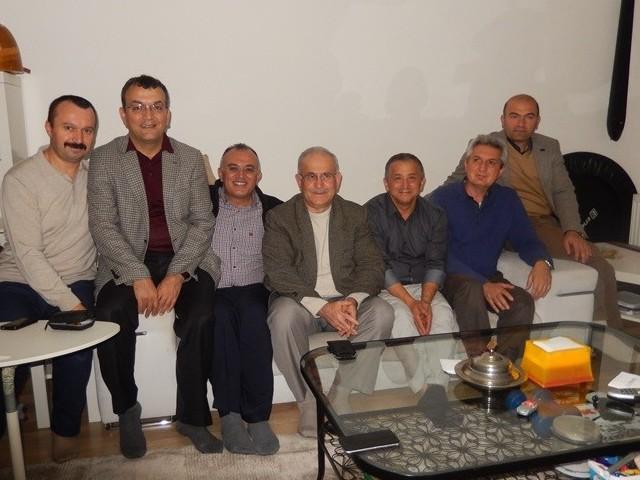 Üsküdar'da Bayram ÇiftineTaziye Ziyareti
