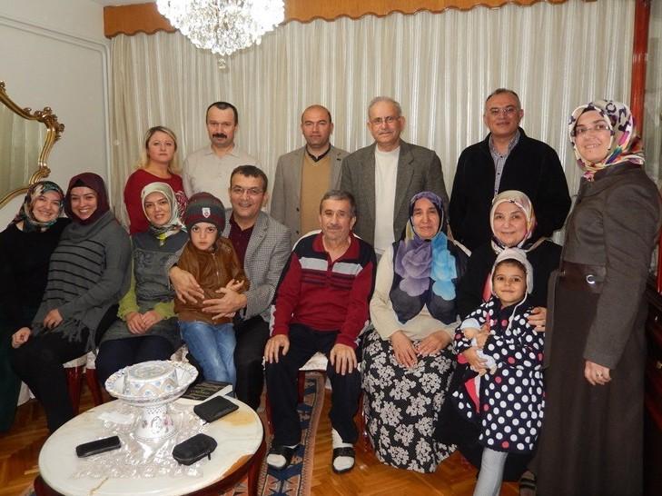 Av. Zeki Hacıibrahimoğlu'na Geçmiş Olsun Ziyareti