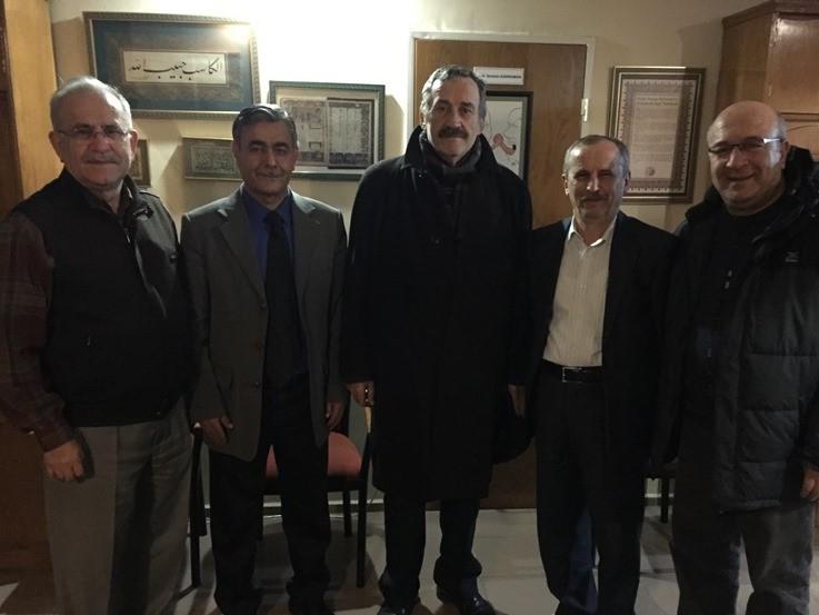 Prof.Dr. Hacı Duran İzmit'te Dostları İle Buluştu