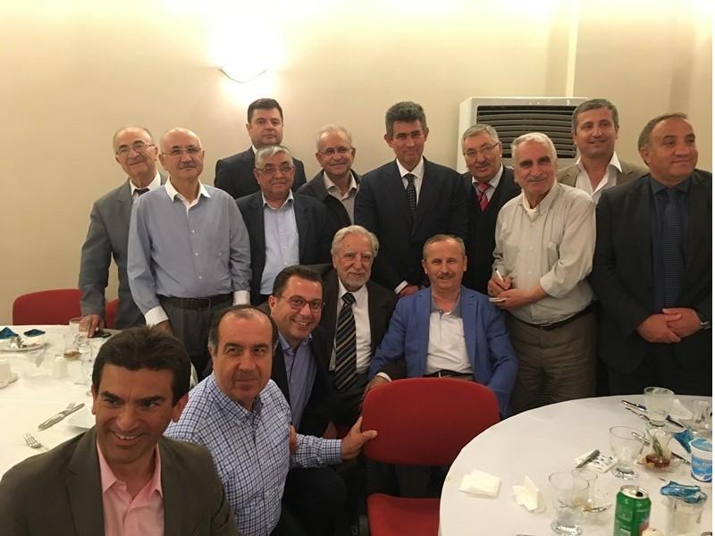 İzmitliler Prof.Dr. Nevzat Yalçıntaş'ın iftarında