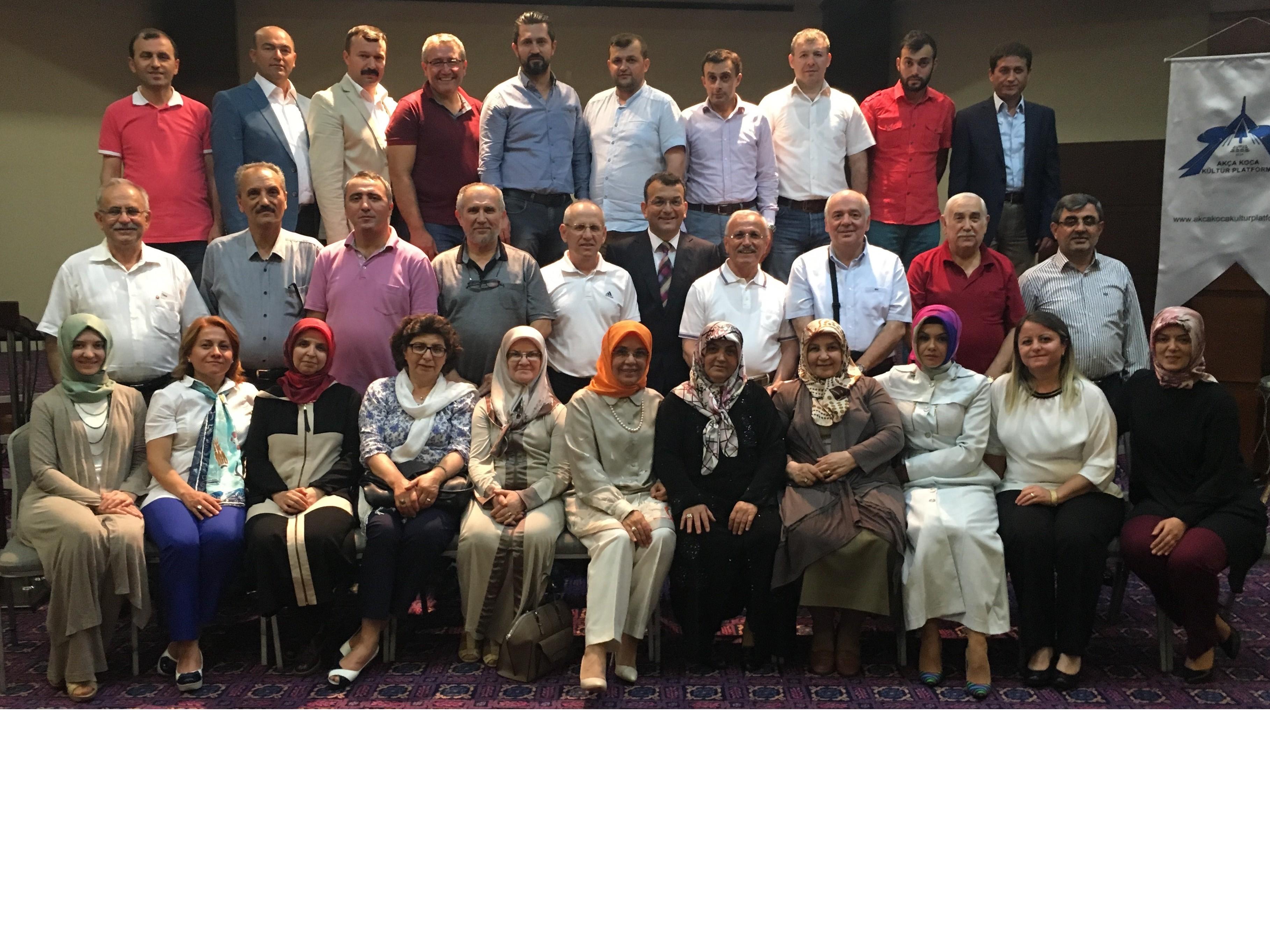 Akça Koca Kültür Platformu'nun 3. geleneksel iftarı
