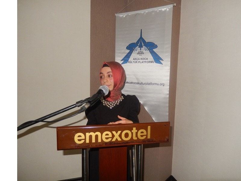 Gençlerle Başbaşa Programında ilk konuşmacı; Ebru Sevim oldu
