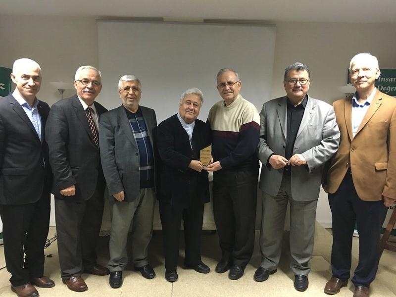 İDEBİR'de Mustafa Yazgan hocamızı dinledik