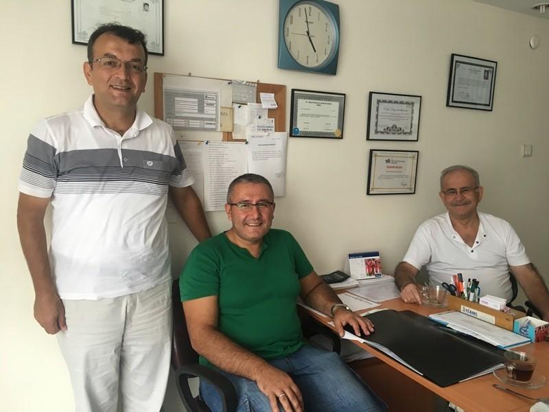 Akça Koca Kültür Platformu İzmit ve Gebze'de ziyaretlerde bulundu