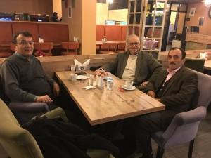 Trabzon Of'tan gelen misafirimiz Osman Uzunhasanoğlu..