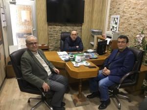Ferhat Bursalıoğlu ziyareti..