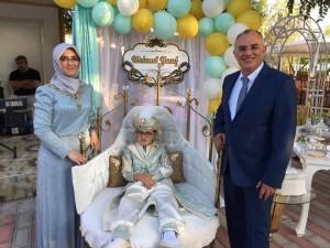 Mehmet Yusuf Taşolar sünnet oldu..