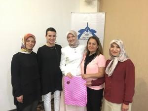 Dr. Ayşe Zeynep Turan Hacca uğurlandı..