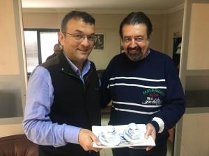 Orhan Balcı'ya Teşekkür Ziyareti