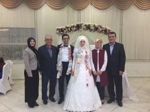 Kevser Öztürk ile Arif Yavuz evlendi