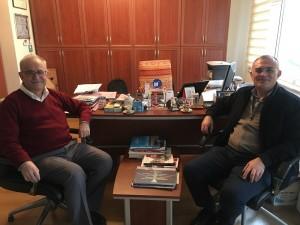 Dr. Oktay Taşolar'dan ziyaret