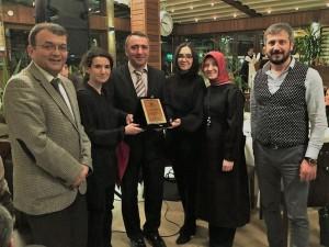 Dr. Yunus Özen'e Mihrabat Korusunda kutlama