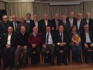 Ahsen Okyar 41 yıllık arkadaşlarıyla…